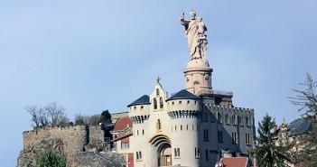 Statue Saint-Joseph-de-Bon-Espoir d'Espaly en Haute-Loire