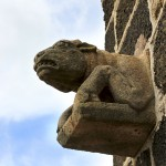 Gargouille - Entrée de l'église Saint Michel d'aiguilhe