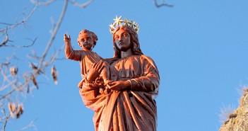 Vierge du Puy-en-Velay - Rocher Corneille