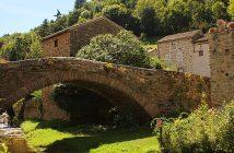 Village de Blesle en Haute-Loire