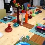 table de cuisine Valérie Roche