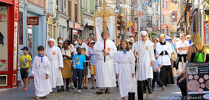 Fête de l'Assomption – le 15 août au Puy-en-Velay
