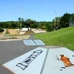 module de skate au skatepark de chadrac en haute-Loire