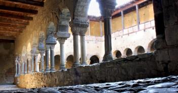 Cloître de l'Abbaye de Lavaudieu