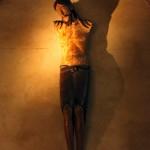 Christ roman de l'Abbaye de Lavaudieu en Haute-Loire
