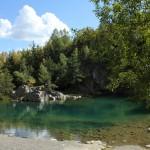 Vue panoramique du Lac Bleu de Champclause