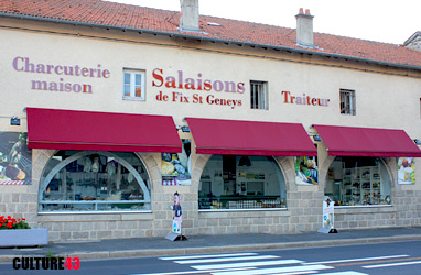 Charcuterie et salaisons de Fix Saint-Geney en
