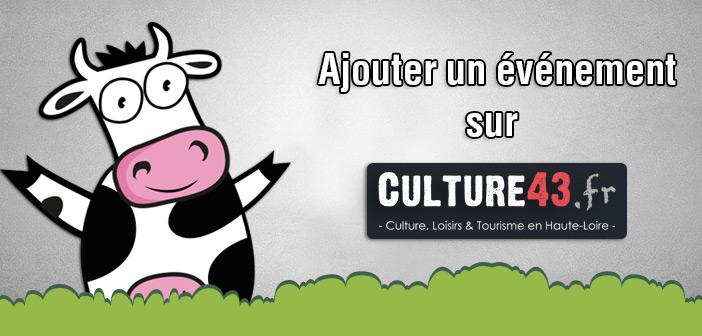 Ajouter un événement sur culture43.fr