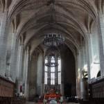 Choeur de l'abbaye et tombeau de Clément VI