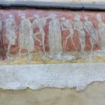 """Fresque murale """"La Danse macabre"""" (XVe siècle)"""
