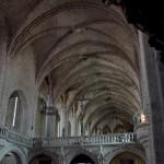 jubé du XVème siècle permettant dede séparer les moines des pélerins