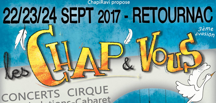 """Festival """"les Chap & Vous"""" 2017"""