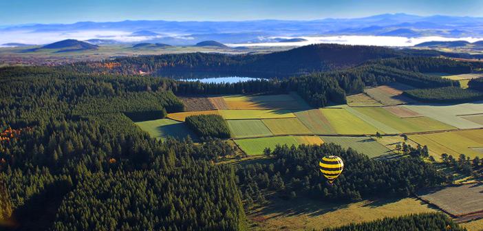 Montgolfière en Velay
