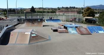 Skatepark de Monistrol-sur-Loire en Haute-Loire