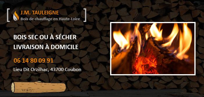 Bois de chauffage en Haute-Loire Jean-Marc Tauleigne