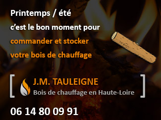Tauleigne Jean-Marc Bois de Chauffage en Haute-Loire