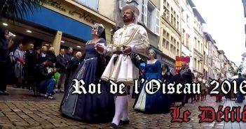 Roi de l'Oiseau 2016 : Le défilé