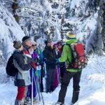 """Julien Lhoste et notre groupe les """"Country randonneurs de Haute-Savoie"""""""
