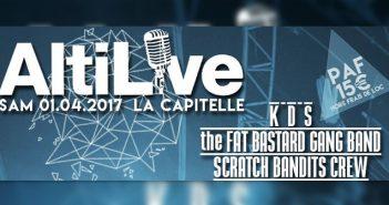Scratch Bandits Crew - The Fat Bastards Gang Band et KDS à Monistrol-sur-Loire