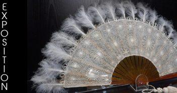 """exposition dentelle du Puy-en-Velay : """"""""Les accessoires de la femme élégante"""""""""""