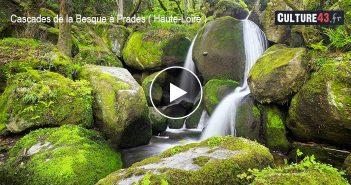 Les Cascades de la Besque à Prades en Haute-Loire ( Auvergne Rhône-Alpes