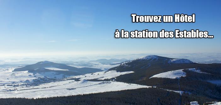Hotels les estables station de ski en Haute-Loire