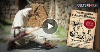 Tournoi National d'Archerie Médiévale à Polignac 2017