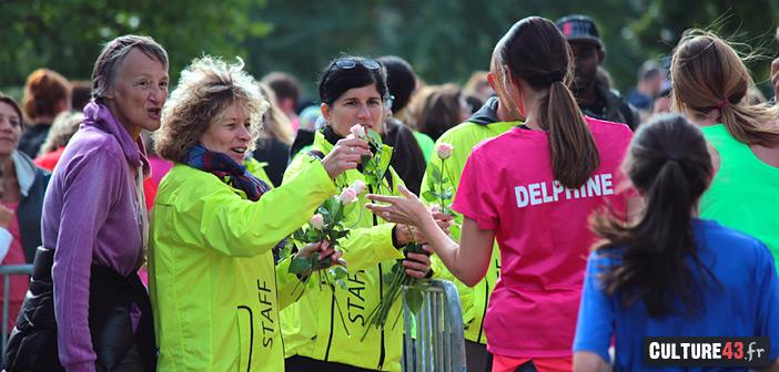 arrivée de cla course des filles 2017