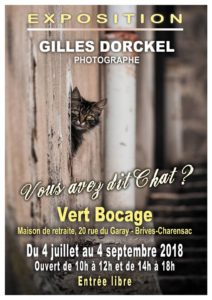Gilles Dorckel s'expose à Brives