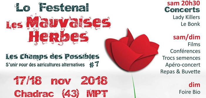Lo Festenal Les Mauvaises Herbes 2018