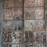 Porte Saint-Gilles (12è siècle), entrée porche occidental.