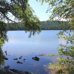 Vue sur le lac du Bouchet