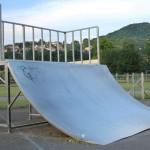 Module de skate, Bmx, roller. Skatepark de Brives-Charensac