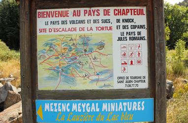 Site d'ecalade de la tortue à Saint julien Chapteuil