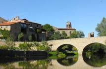Lavaudieu considéré comme l'un des beaux villages de France