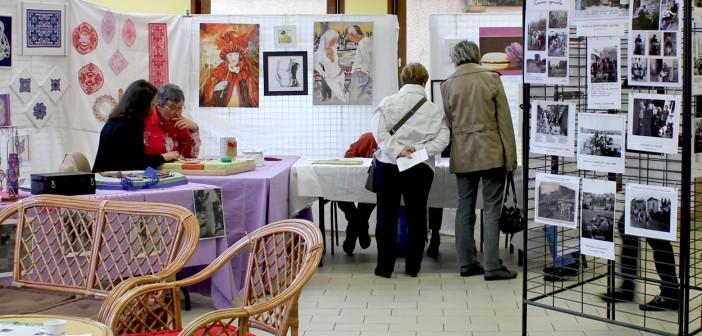 Une salle était dédiée aux artistes locaux de Blavozy