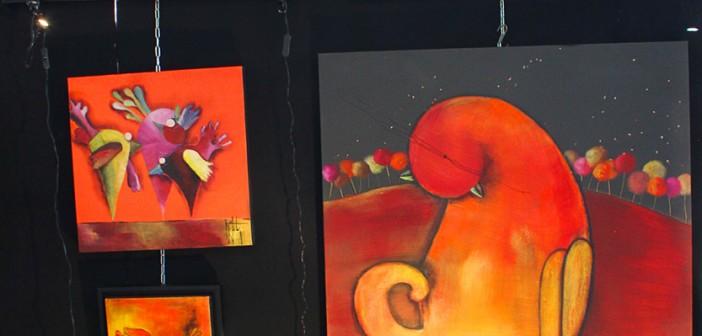 Peintures par Barbara Mouton