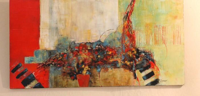 Peinture par Chantal Longeon - Invitée d'honneur