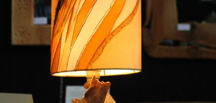 Lampe par Patrick Colomiès - sculptures & encadrements