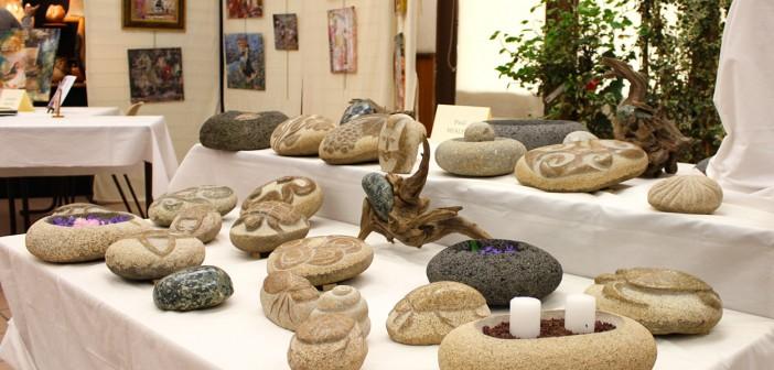 Paul Milhe - Sculpture sur gallets & bois flotté