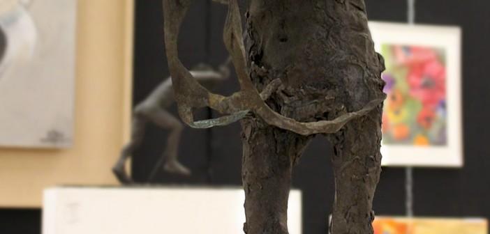 """Mue"" Sculpture en Bronze par Sébastion Alibert"
