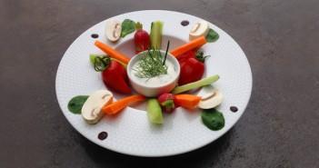 dip de légumes du jardin par Valérie Roche