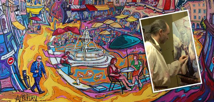 Alkaplan alias Bruno Pezon - peintre animériste